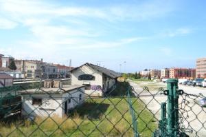 Estación de Pamplona-Iruñea.