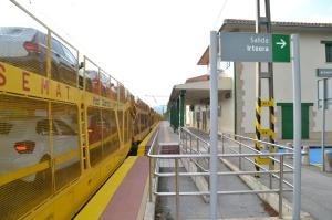 Estación de Uharte-Arakil. En servicio.
