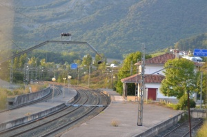 Estación de Izurdiaga, Arakil. En servicio.