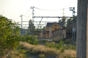 Estación de Marcilla. En funcionamiento.