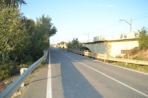 Puente sobre el Río Aragón, en Marcilla.