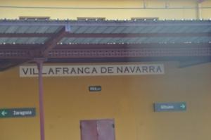 Estación de Villafranca. En funcionamiento.