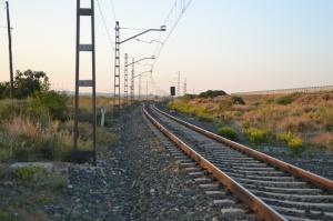 Puente de la carretera hacia Milagro. Previsto desdoblamiento de la vía a la derecha.