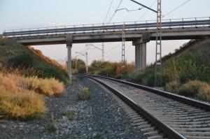 Puente de la carretera hacia Milagro.